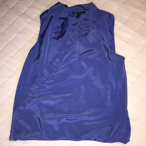 Kenneth Cole Surplus Blue crossover tank large